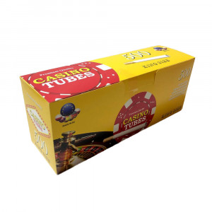 CASINO TUBES - гильзы для табака (стандарт), 500 штук