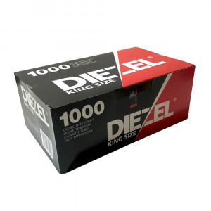 DIEZEL - 1000 гильзы для табака (стандарт), 1000 шт