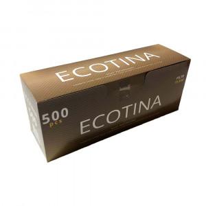 ECOTINO - гильзы для табака (стандарт), 500 штук