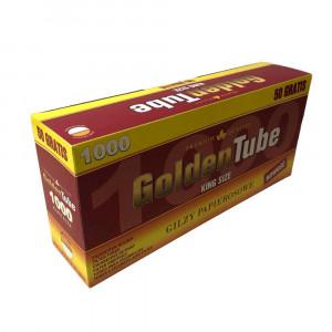 GOLDEN TUBE - гильзы для табака (стандарт), 1000 штук
