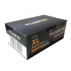 TUBE15 XL PACK -  1000 гильзы для табака (стандарт), 1000 шт