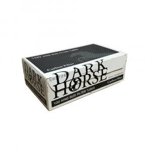 Dark Horse Carbon - гильзы для табака, 100 штук