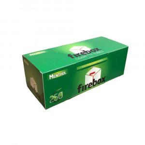 FIREBOX MENTHOL сигаретные гильзы с ментолом, 250 штук