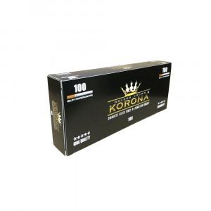 KORONA 100 - гильзы для табака, 100 штук