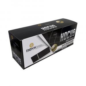 HOGUS BLACK - черные гильзы для табака (стандарт), 500 штук