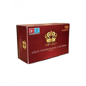 TOP GILZA 100 - гильзы для табака, 110 штук